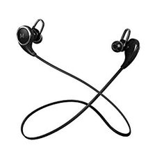 Amazon.com: Maxtronic QY8 Bluetooth Headphones V4.1 Lightweight Heavy Bass In-Ear Noise Isolating with Microphones Flat Cord Stereo Wireless Earbuds Headset Earphones For Running & Gym: Cell Phones & Accessories