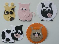 Critters 02 using Stampin Up Owl Punch- now I just need to get one of these things! They seem to be terribly useful. Owl Punch Cards, Paper Punch Art, Adornos Halloween, Owl Card, Craft Punches, Mini Scrapbook Albums, Kids Scrapbook, Kids Cards, Baby Cards