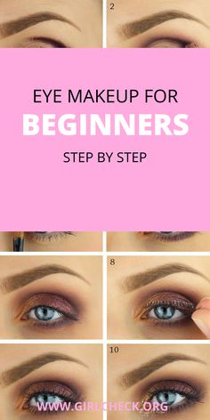 Eye makeup for beginners step by step trendy and elegant! Makeup Tips, Eye Makeup, Beauty Tips, Beauty Hacks, Elegant Makeup, Christmas Makeup, Makeup For Beginners, Party Makeup, Most Beautiful