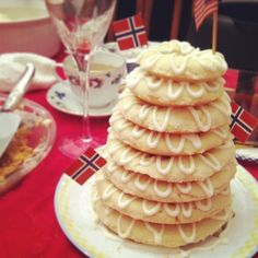 Homemade Norwegian Wedding Cake.