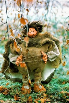 """Troll """"Fädel Castro"""" by Maud., Germany is the guardian of patience. (He holds the strings of patience tight in his hands)"""