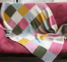 Whit's Knits: Hudson Bay Inspired Crib Blanket | Blankets, Bays ... : knitted quilts - Adamdwight.com