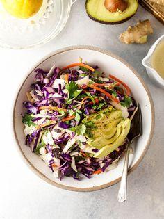 Best Detox Salad with Lemon-Ginger Dressing   The Detoxinista   Bloglovin'