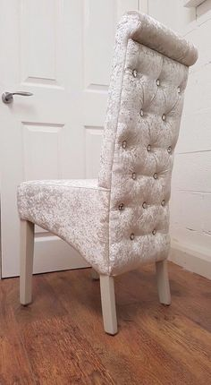 Crushed Velvet Dining Chair