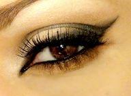 dark sharp eyes