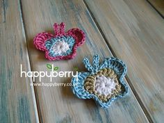 How To Crochet a Butterfly