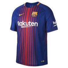 Nike Youth Barcelona Soccer Jersey (Home 17 18)   SoccerEvolution 29f7a310b94