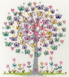 Love Spring  - Counted Cross Stitch Kit by Bothy Threads