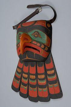 Thunderbird garment, Kwakwaka'wakw, museum of anthropology at UBC