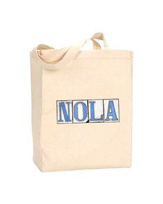 Nola Tiles N.O.L.A.  Bead Bag / Grocery by BethDaiglePhotograph, $20.00