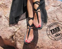 daf799b97327 Lace Up Gladiator Sandal with Desert Wanderer Laces-FREE SHIPPING in the  USA- Women s Sandals-Vegan Sandals-Boho Sandals