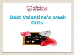 For more details visit at: http://www.giftalove.com/valentine/valentine-week-gifts-493.html