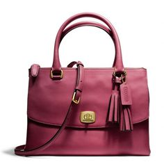 Coach Legacy Harper Satchel In Leather ($498)