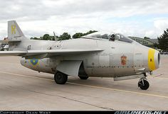 Saab J29F Tunnan aircraft picture