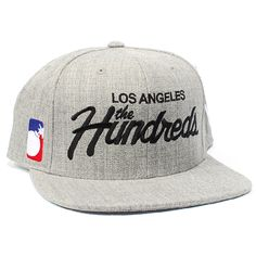 The Hundreds Forever Team Snapback Hat (Athletic Heather) $28.95