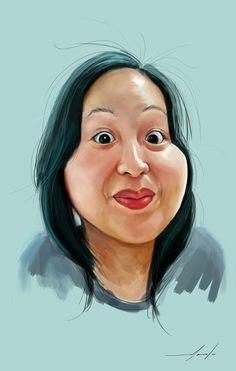 Caricatures 2010 by Meneer Marcelo, via Behance