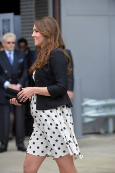 Kate's best maternity looks