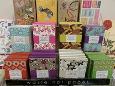 Waste Not Paper notecard sets at The Print Shop