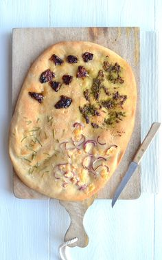 Foccacia Recipe, Vegetarian Recipes, Healthy Recipes, Cook Up A Storm, Bread Baking, Food Inspiration, Italian Recipes, Bread Recipes, Delish