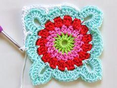 Tutorial granny square ♡ Teresa Restegui http://www.pinterest.com/teretegui/ ♡