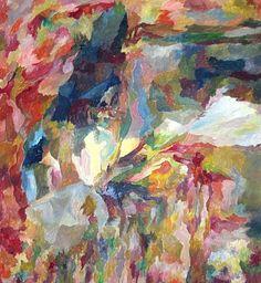 Es blüht und glüht - Bernard Schultze. 1915; Poland-- 2005;Germany.