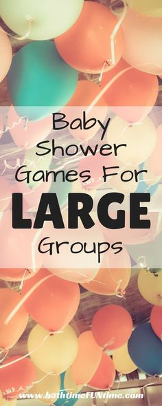 Large Baby Shower Ideas! Baby Shower Bingo Cards. 80 different printable baby shower bingo cards. Instantly download this printable baby shower game. Baby shower game play for large baby showers - up to 80 guests! One less thing for you to worry about before the big baby shower! http://www.bathtimefuntime.com/baby-shower-games-for-large-groups/