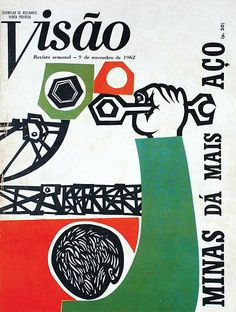 olidea toscano-1962 cover of Visao Magazine