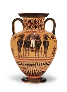 Ancient Greek Art, Ancient Greece, Ancient History, Art History, Pottery Painting, Pottery Art, Archaic Greece, Ancient Greek Architecture, Gothic Architecture