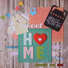 "January challenge ""Home sweet home"" - Katka"