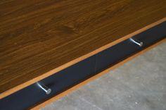 Bloom Desk 60 Black Drawers Danish Modern Style door STORnewyork