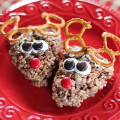 If you love Rice Krispies Treats, here's another fun variation for the holidays!