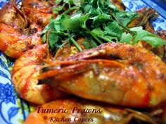 Kitchen Capers :: View topic - Tumeric Prawns(recipe n pic)