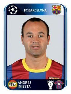 Barcelona - Andres Iniesta - Champions League2010-2011