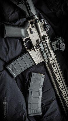 Knights Armament SR-15 by Stickman.