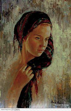 Roman Frances SHEREZADE Oil Canvas 70 x 50 cm na Stylowi.pl