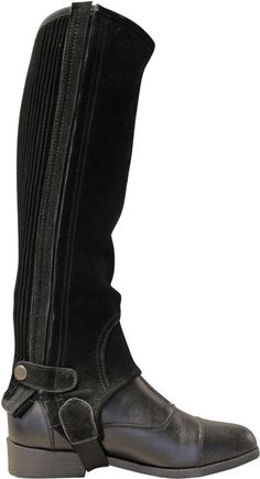 Suede Half Chaps Dublin Clothing ( - Womens Clothing - Womens Riding Gear)