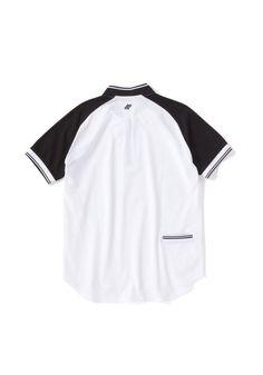 BOMBER COLLAR PIQUE SHIRT narifuriとの別注アイテムです。素材にはFRED PERRYの中でも高機能な鹿の子(抗菌防臭、吸汗速乾、UVカット)を採用し、スプリットラグランスリーブ、バックポケット、ラウンドテールのデザイン、ボンバー衿になっています。フロントもファスナー仕様のデザインポロシャツです。 Pique Shirt, Polo Shirt, Polo Ralph Lauren, Mens Tops, Shirts, Fashion, Moda, Polos, Fashion Styles