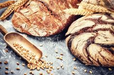 Freshly Baked Bread Rustic Setting Stock Photo (Edit Now) 250354108 Czech Recipes, Tasty, Yummy Food, Freshly Baked, Bread Baking, Grains, Food And Drink, Nutrition, Homemade