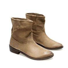 FLAT COWBOY ANKLE BOOT - Ankle boots - Shoes - Woman - ZARA United States