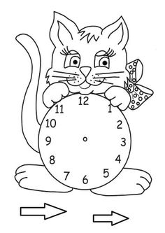 Saat Telling Time, English Class, Craft Activities For Kids, Paper Flowers, Origami, Kindergarten, Clock, Shapes, Esl