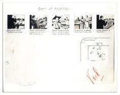 Storyboard from CITIZEN KANE.