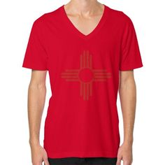 Zia V-Neck (on man) Shirt
