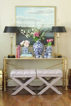 How To Style A Sideboard Or Console Table