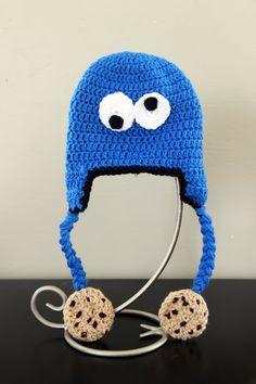 crochet cartoon cat hat patterns | Crochet: Hats and Bonnets