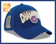 264336afbbd Baseball Cap Hat 2016 World Series Champs Hat Chicago Cubs
