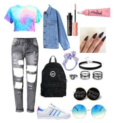 """Unicorns Are Real"" by maria-plx on Polyvore featuring adidas, Hype, Quintess, Lulu*s and Benefit"