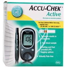 Accu-Chek Active Blood Glucose Monitoring System Buy Online at Best Price in India: BigChemist.com