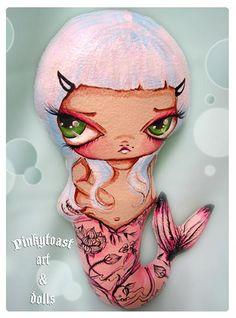 tattoo mermaid-pinkytoast 1 by pinkytoast, via Flickr