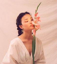 soul | human | pinks | plants | model | asian model | natural | minimal | light