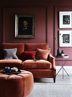 The Top Interior Design Trends for How Many are in Your Home . Home Trends home fashion furniture trends Living Room Paint, Living Room Colors, New Living Room, Living Room Sofa, Living Room Designs, Living Room Decor, Living Spaces, Bedroom Decor, Living Walls